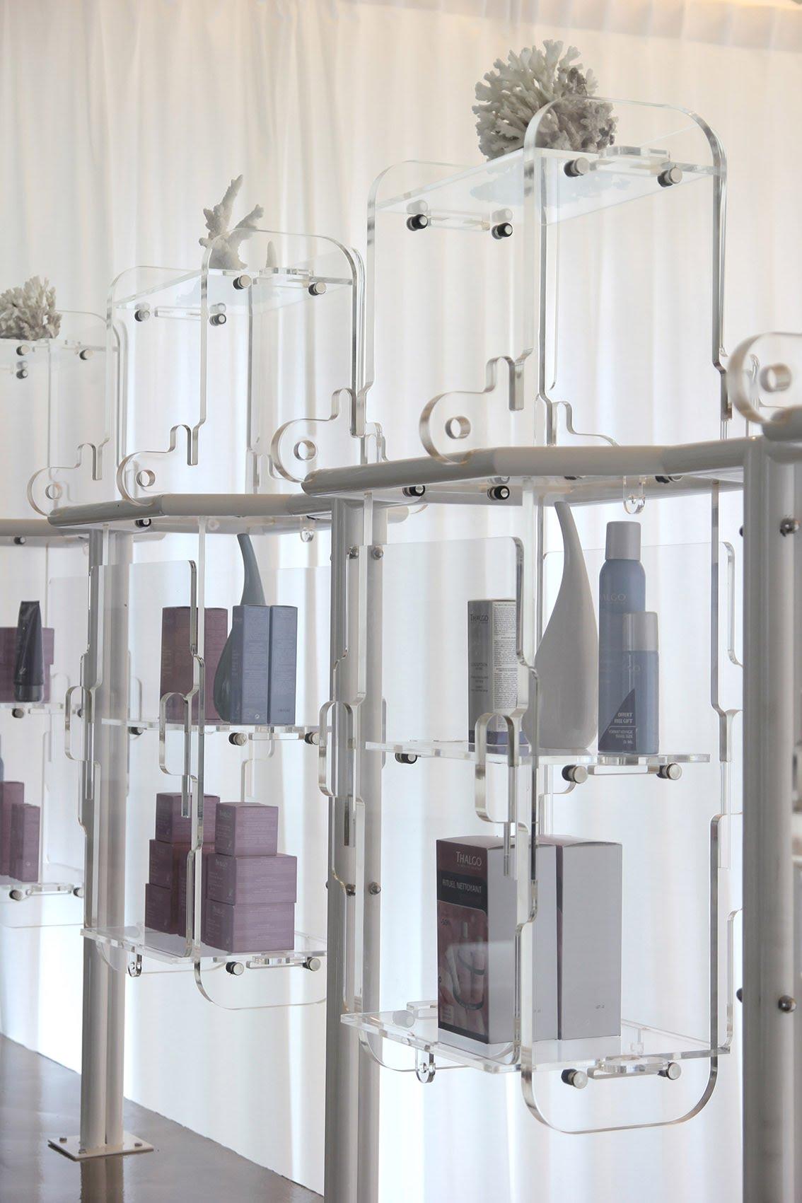 2016 Infinity Spa Spacepopular Keypad Wiring Diagram Display Cabinet On The Mezzanine Integrated Into Bespoke Railing